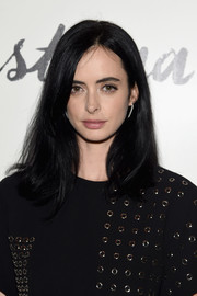 Krysten Ritter wore her hair straight with an undercurl at the screening of 'Asthma.'
