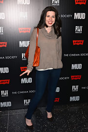 Heather Matarazzo rocked a pair of skinny dark-wash jeans at the premiere of 'Mud.'