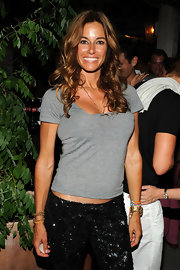 Kelly Bensimon showed off her long golden brown locks while attending a screening in New York.