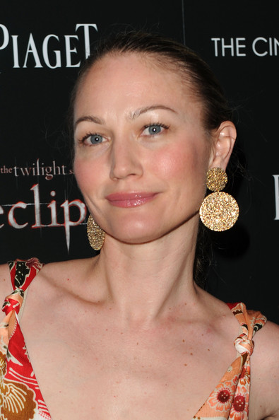 More Pics of Sarah Wynter Gold Dangle Earrings (1 of 3) - Sarah Wynter Lookbook - StyleBistro