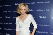 Actress Rachel McAdams attends The Cinema Society & Thierry Mugler screening of