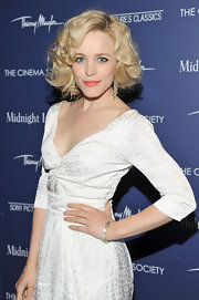 Rachel McAdams attended the premiere for her new film 'Midnight in Paris' wearing Moonlight bracelet.