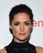 Rose Byrne kept it classic and elegant with this loose updo at the CinemaCon Big Screen Achievement Awards.