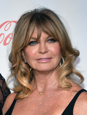 Goldie Hawn sweetened up her look with this curly 'do for the CinemaCon Big Screen Achievement Awards.