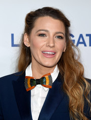 Blake Lively sported a sweet and youthful half-up hairstyle at CinemaCon 2018.