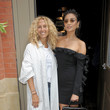 Jane Siskin and Shay Mitchell at Cinq A Sept