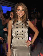 Maria Menounos painted her nails a pretty pastel pink shade for 'Cirque du TACORI.'