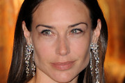 Claire Forlani Dangling Diamond Earrings
