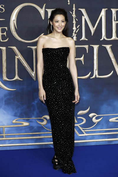 Claudia Kim Strapless Dress