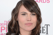 Clea DuVall Medium Wavy Cut with Bangs