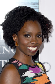 Adepero Oduye attended the premiere of 'The Big Short' wearing a curly hairstyle.