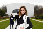 Clotilde Courau Wool Coat
