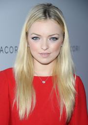 Francesca Eastwood wore her hair in an edgy-chic layered style when she attended the Club Tacori event.