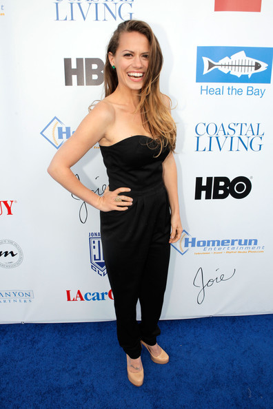 More Pics of Bethany Joy Lenz-Galeotti Jumpsuit (4 of 6) - Jumpsuit Lookbook - StyleBistro