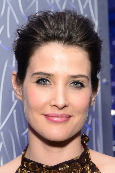Cobie Smulders Twisted Bun