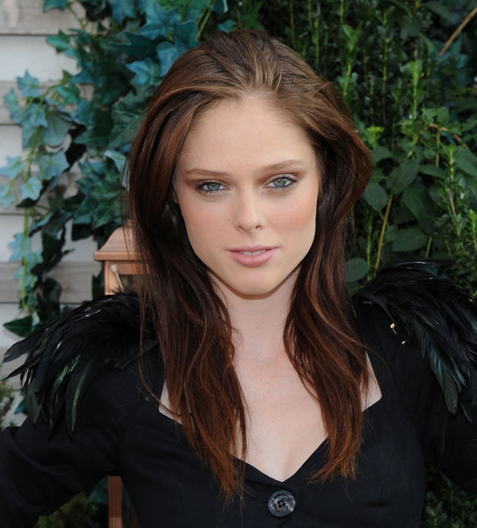 coco rocha red hair. Coco Rocha Hair