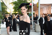 Coco Rocha Off-the-Shoulder Dress