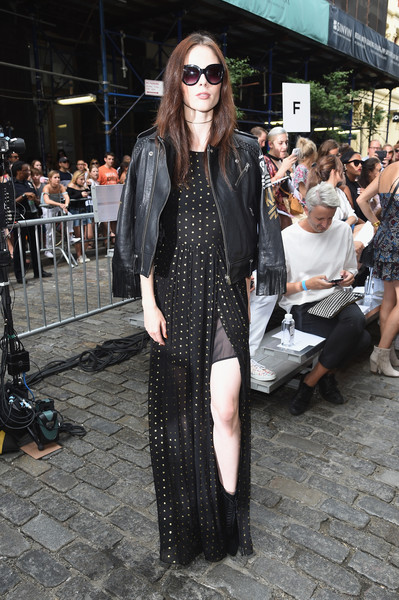 Coco Rocha Leather Jacket
