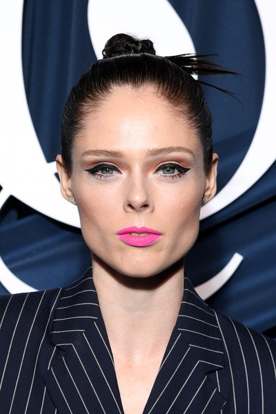 Coco Rocha Hair Knot [hair,eyebrow,face,hairstyle,lip,beauty,fashion,ear,chin,eye,coco rocha,business of fashion celebrates the bof500,paris,france,hotel de ville,red carpet arrivals,gala,paris fashion week spring]