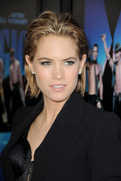 Cody Horn Messy Cut [magic mike,hair,face,hairstyle,eyebrow,lip,blond,beauty,chin,skin,forehead,red carpet,cody horn,film independent,regal cinemas l.a. live,los angeles,california,warner bros. pictures,los angeles film festival premiere,premiere]