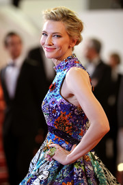 Cate Blanchett's Chopard butterfly rings and Mary Katrantzou floral dress at the Cannes premiere of 'Cold War' were a gorgeous (and clever) combo.