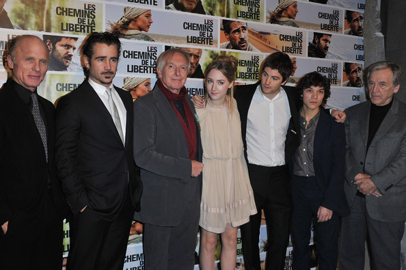 'The Way Back' Paris Photocall