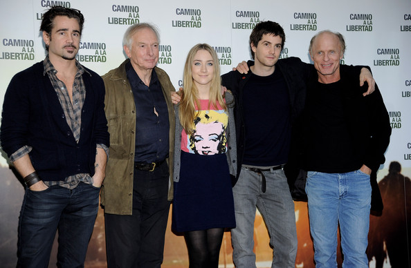 Colin Farrell Attends 'The Way Back' Photocall in Madrid