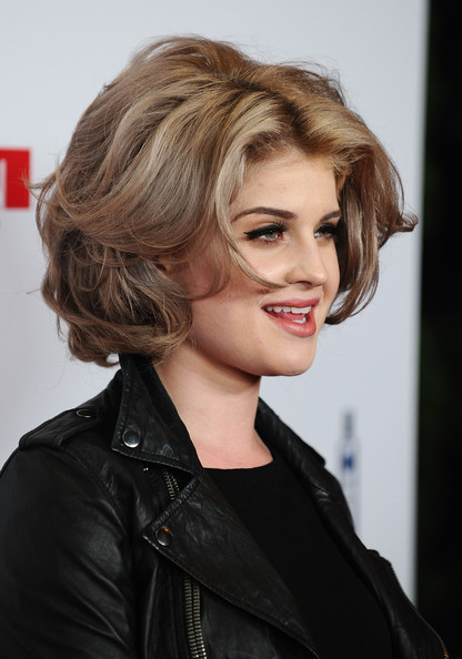 More Pics of Kelly Osbourne Short Curls (2 of 12) - Short Hairstyles Lookbook - StyleBistro