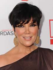 Kris Jenner showed off her radiant locks while hitting the Comcast party.