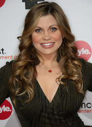 Danielle Fishel looked oh-so-romantic with her long curly 'do at the TCA party.