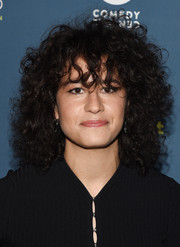 Ilana Glazer sported tousled curls at the Comedy Central Live Upfront after-party.