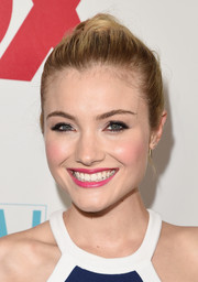 Skyler Samuels pulled her hair back into a high ponytail for the 20th Century Fox party at Comic-Con.