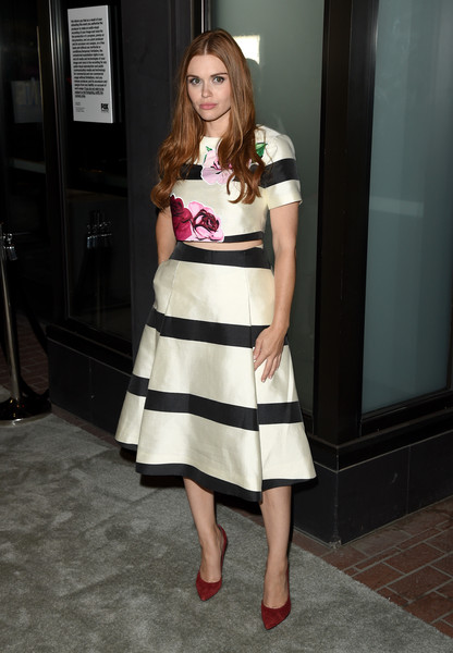 Holland Roden in Funky Stripes and Florals