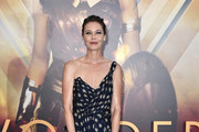 Connie Nielsen One Shoulder Dress