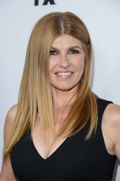 Connie Britton's Long Straight Cut