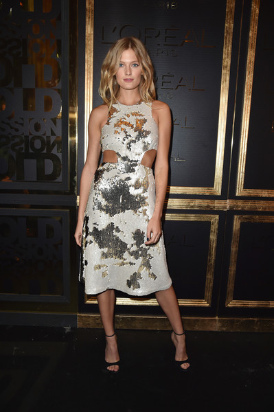 Constance Jablonski Cutout Dress