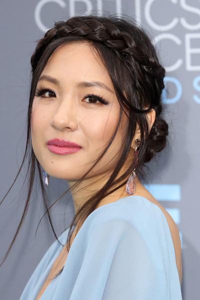 Constance Wu Pink Lipstick