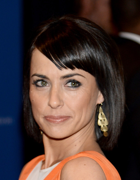 Constance Zimmer Bob [hair,face,hairstyle,eyebrow,chin,bangs,beauty,layered hair,lip,forehead,arrivals,constance zimmer,washington dc,washington hilton,white house correspondents association dinner]
