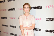 Zoey Deutch Mid-Calf Boots