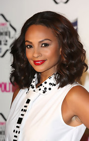 A swipe of red lipstick totally brightened up Alesha Dixon's look during the Cosmopolitan Ultimate Women of the Year Awards.