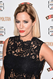 Caroline Flack sported a short, pin-straight 'do at the Cosmopolitan Ultimate Women of the Year Awards.