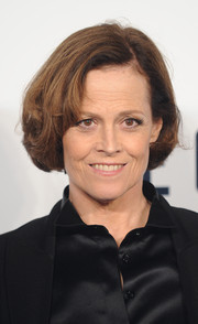 Sigourney Weaver kept it simple with this classic bob when she attended the screening of 'The Counselor.'