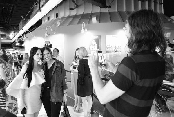 More Pics of Kacey Musgraves Box Clutch (5 of 46) - Clutches Lookbook - StyleBistro [image,white,photograph,black,black-and-white,monochrome,monochrome photography,snapshot,photography,event,fun,kacey musgraves,all,colors,nashville,tennessee,country music hall of fame and museum,opening,exhibition]