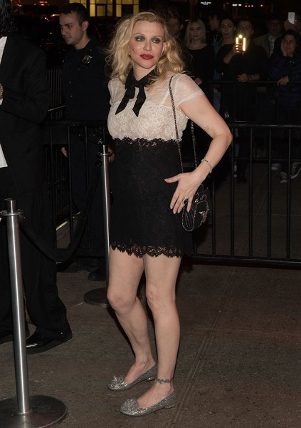 Courtney Love Lace Dress