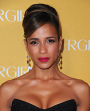 Actress Dania Ramirez vamped up her look with classic red lips.