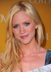 Brittany Snow framed her face with long blond layers.