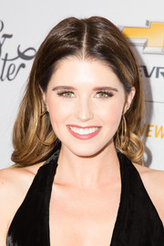 Katherine Schwarzenegger sported a perfectly styled wavy 'do at the Create & Cultivate 100 event.