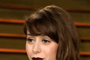 Cristin Milioti Medium Wavy Cut with Bangs