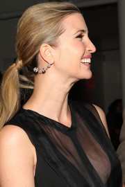 Ivanka Trump kept it simple and youthful with this ponytail when she attended the Cushnie et Ochs fashion show.