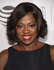 Viola Davis showed off a perfectly styled curled-out bob at the Tribeca Film Fest premiere of 'Custody.'